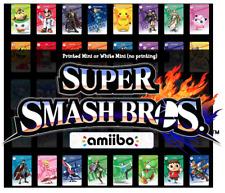 SSBU Super Smash Bros Ultimate Custom Mini NFC Amiibo Card Nintendo Switch 3DS
