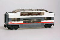 LEGO City Custom Built Passenger Middle Panoramic Observation Car Carriage 60051