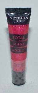1 NEW VICTORIA'S SECRET PUNCHY TOTAL SHINE ADDICT FLAVORED LIP GLOSS BALM PINK
