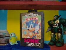 Sonic the Hedgehog (Sega Genesis, 1991) Cib Complete Tested