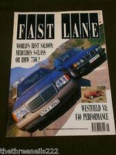 FAST LANE - WESTFIELD V8 - MAY 1991
