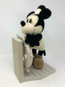 RARE Steamboat Willie Mickey Mouse Plush Doll 2000 Millennium Edition