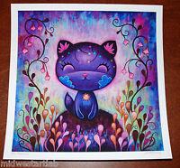 Jeremiah Ketner Art Print Flower Kitty S/# 40 w/ COA LOL Cats Disney Poster