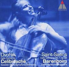 Jacqueline Du Pré - Dvorak & Saint-Saens: Cello Concertos (NEW CD)