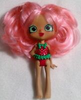 SHOPKINS Shoppie Doll toy Strawberry Figure girl moose articulated pink q28