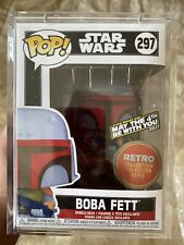 Funko Pop! Star Wars Boba Fett #297 (Retro)May The 4th Be With You Edition, LE 6