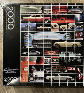 Vintage Springbok CLASSIC CARS by Harv Gariety 2000 Piece Puzzle