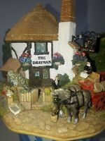 Lilliput Lane Model The Drayman Not Boxed No Deeds. VINTAGE