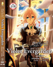 DVD ANIME Violet Evergarden Vol.1-14 End English Subs Region All + FREE DVD
