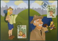 Rumanía 2007 Europa: Boy Scout, scouts, powell Mk mi.6190-91, tarjetas maximum, MC