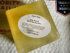 Hemp Seed Oil Melt & Pour Soap Base-1 Pound-Shipped Priority