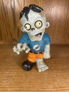 NFL Team Zombie Miami Dolphins Forever Collectibles Halloween Figure Football