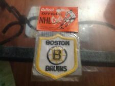 BOSTON BRUINS NHL HOCKEY 1970S CREST PATCH OFFICIAL CRESTS CELTICS RED SOX MINT