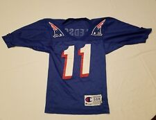 Champion Vintage Youth Patriots #11 Bledsoe Jersey SIZE S 6-8