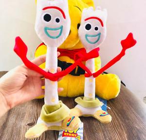 High Quality Toy Story 4 Forky Buzz Lightyear Woody Soft Plush Toy Stuffed Doll