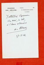 CG91-L.A.S-ALBERT DE MUN-HOMME POLITIQUE-[CATHOLICISME SOCIAL]-1912