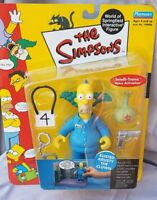 SERIES 9 BUSTED KRUSTY THE KLOWN THE SIMPSONS WOS  ACTION FIGURE PLAYMATES MIP