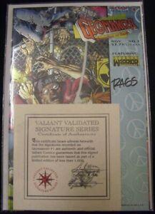 GEOMANCER 1 VALIANT SIGNATURE SERIES COMIC FONTENOT RAGS MORALES BRANCH 1994 NM