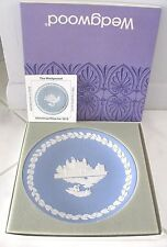 Wedgwood 1973 Christmas Plate - Tower Of London / Fifth in Series