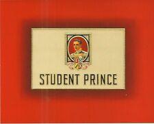 Vintage Lithograph Cigar Box Label - Student Prince