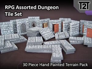 RPG Assorted Dungeon Tile Set