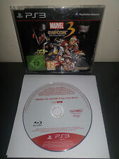 MARVEL VS CAPCOM 3 - Jeu PS3 PROMO ONLY NOT FOR RESALE RARE