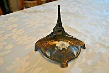 Encrier ancien en régule Paris Tour Eiffel- Old inkwell regulates-Made in France