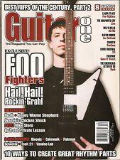 GUITAR ONE  December 1999  FOO FIGHTERS