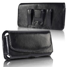 Vertical Leather Belt Clip Holster Carrying Pouch Case for Samsung Galaxy S10+