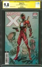 Major X 1 CGC 2XSS 9.8 Rob Liefeld Corona 3rd Print X Force Deadpool Movie 2019