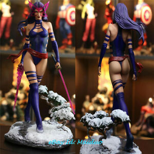 Psylocke Betsy Braddock Statue Figurine Resin Model Collections 1/4