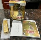 The Legend of Zelda: Skyward Sword Nintendo Wii 25th Anniversary w/ Remote & CD!