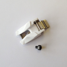 NEW Fox Racing MX Boot Spares - 2015 Instinct/Comp 8 Buckle - White (Each)