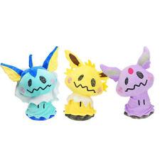 Pokemon 12'' Mimikyu Cosplay Eevee Vaporeon Espeon Jolteon Soft Plush Doll Toy