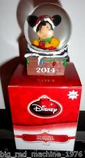 Disney Snowglobe Mickey Mouse JCPenney 2014 2013 2011 Lot x3 Christmas L@@K