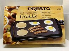 Presto Cool Touch Electric Griddle No. 07047 * Household Use ONLY