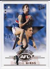 2003 AFL Select XL Ultra Rising Star Card - Shane Birss