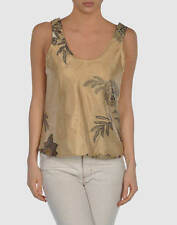 Waist Length Silk Scoop Neck Sleeve Tops & Shirts for Women