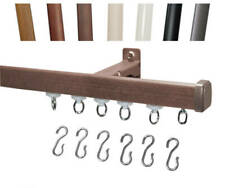 Décor 1 Decorative Curtain Track Set for Wall or Ceiling Mount
