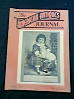 1947 AMERICAN ANTIQUES Journal Oglebay Mansion Wheeling Glass WV Sam Stettinius