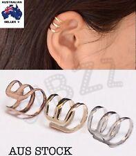 Earring Clip On Ear Cuffs Wrap Punk Accessory No Piercing Unisex Jewellery