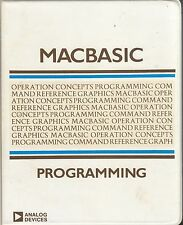 Macintosh: Macbasic Programming - 1984