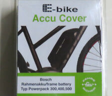 Neoprene E-Bike Akku Cover Gepäcktäger,hochwert BOSCH Powerpack 300//400//500