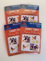1999 Looney Tunes Stamp Collection Lot Of 4 Packs New USPS