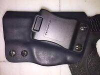 IWB Holster for S&W M&P Shield 9/40 - Adj Retention - 15 deg Cant - Left Handed