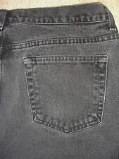 GAP Flare Black Denim Jeans Womens Size 18 X-Short x 26