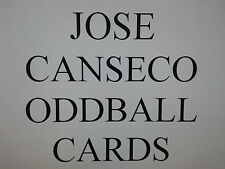 JOSE CANSECO -  ODDBALL cards $0.99 each OAKLAND A's