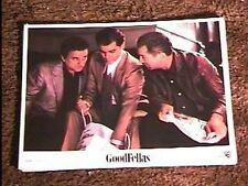 GOODFELLAS '90 LOBBY CARD #2 MAFIA DE NIRO