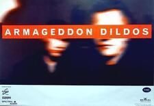 ARMAGEDDON DILDOS TOURPOSTER SPEED TOUR 1997 KONZERTPLAKAT TOURPLAKAT POSTER