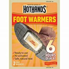 NEW HotHands Foot Warmer Warm Up to 6 Hours Safe Max Heat Warmers 1-Pair